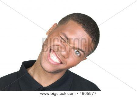 African American Goofy Portrait