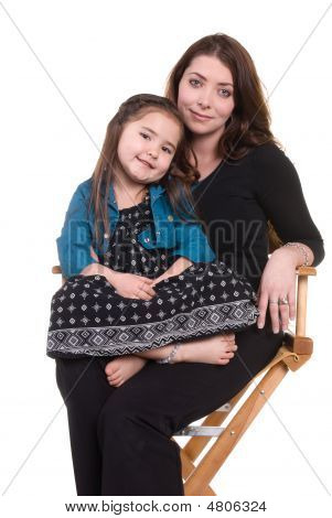 Mother And Daughter Bonding