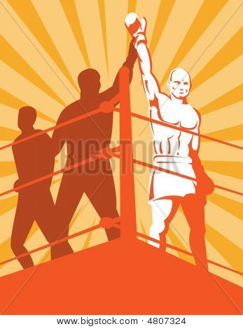 Boxer Winning Champion