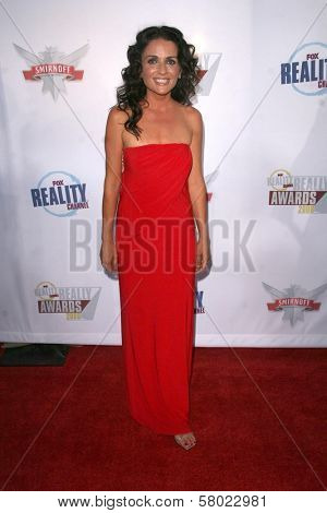 Jenni Pulos  at the Fox Reality Channel Awards. Avalon Hollywood, Hollywood, CA. 09-24-08