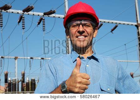 Electrical Utility Worker