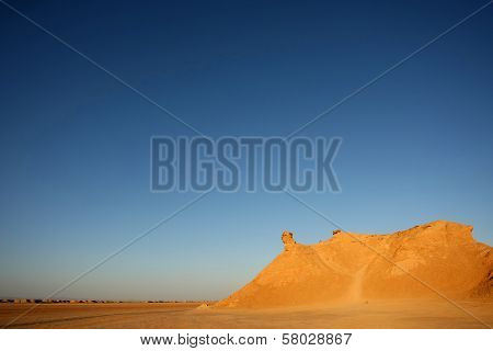 Camel Head Rock At Sunset