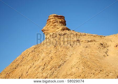Camel Head Rock In Tunisia