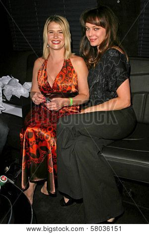 Kristy Swanson and Melinda Clarke  at