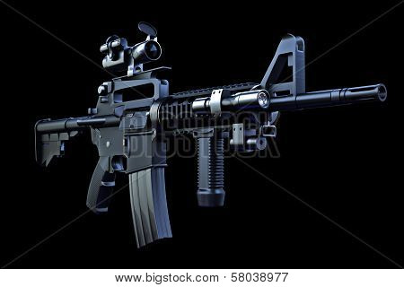 M4 tactical rifle