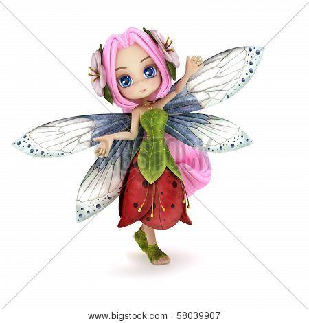 Cute toon fairy