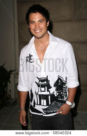 Michael Copon  at the Summer Stars Party hosted by InTouch Weekly and ISH. Social Hollywood, Hollywood, CA. 05-22-08