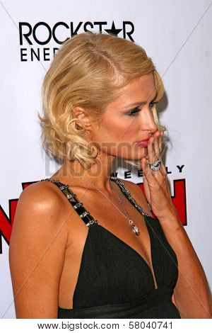 Paris Hilton  at the Summer Stars Party hosted by InTouch Weekly and ISH. Social Hollywood, Hollywood, CA. 05-22-08