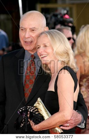 Alan Arkin and Suzanne Newlander Arkin  at the World Premiere of