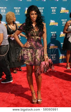Solange Knowles  at the BET Awards '08. Shrine Auditorium, Los Angeles, CA. 06-24-08