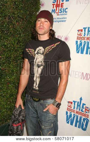 Ace Young  at the VH1 Rock Honors Party. Intermix Boutique, Los Angeles, CA. 07-11-08
