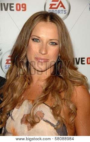 Edyta Sliwinska  at the Launch Party for NBA Live 09. Beso, Hollywood, CA. 09-26-08