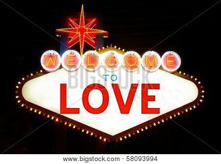 Welcome love