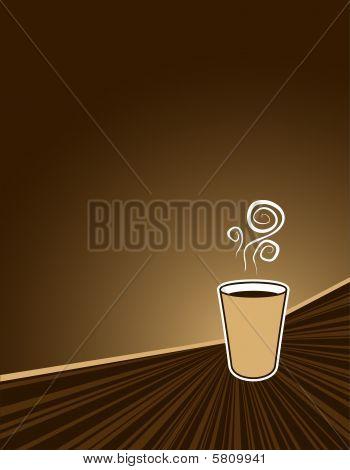 Coffee Rush Background