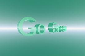 Go Green 3D Perspective