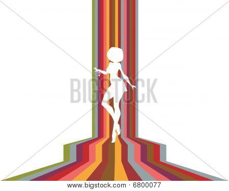 Dancing Sihouette