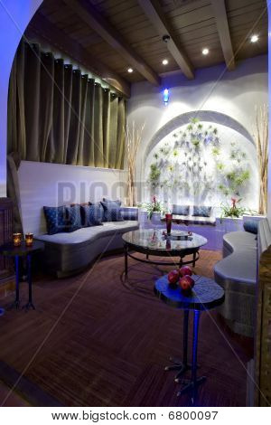Luxurious Boutique Hotel Lobby