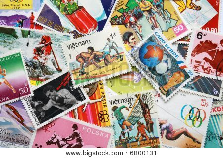 World stamps: sports