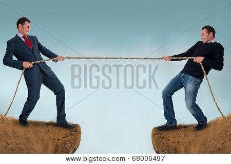 Tug Of War Test Of Strength