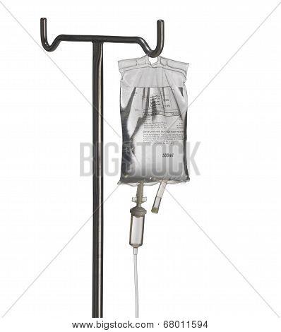 Hospital I V Drip on Stand