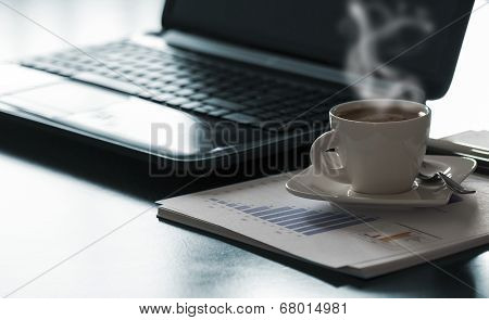 Coffee And Laptop