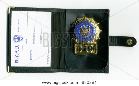 NYPD Detective Wallet
