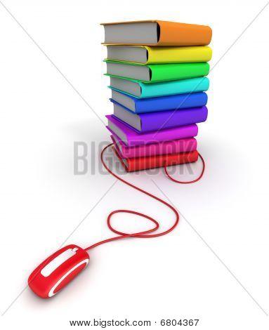Multicolored E-books