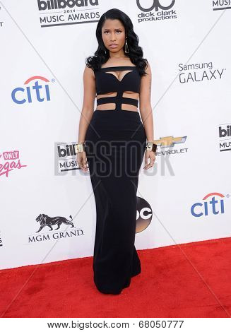 LAS VEGAS - MAY 18:  Nicki Minaj arrives to the Billboard Music Awards 2014  on May 18, 2014 in Las Vegas, NY