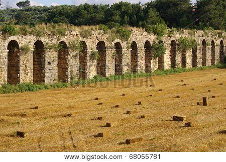 Roman Aqueduct Near Manavgat, Turkey