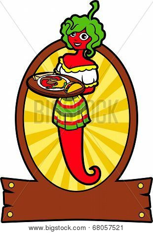 Girl Hot Pepper