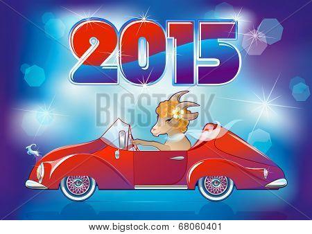 Goat, Symbol New Year 2015