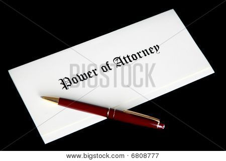Power Of Attorney Document