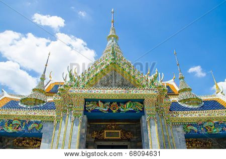 Wat Pra Kaew Grand palace Bangkok Thailand poster