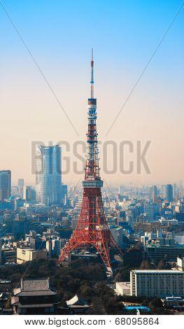 Tokyo Tower In Minato Ward