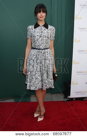 LOS ANGELES - JUL 8:  Meghan Ory at the Crown Media Networks July 2014 TCA Party at the Private Estate on July 8, 2014 in Beverly Hills, CA