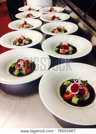 Black ceviche