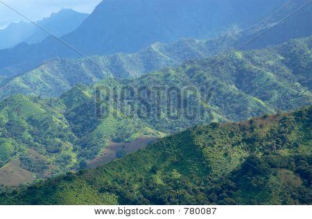 Na Pali Mountain Layers