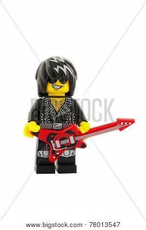 Rock Star Minifigure