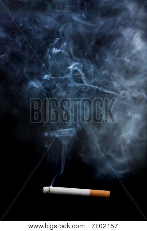 Cigarette And Smoke