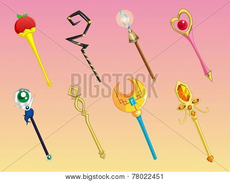 Cute Scepters Collection