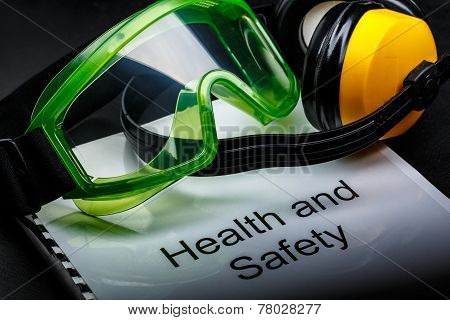 Goggles And Earphones
