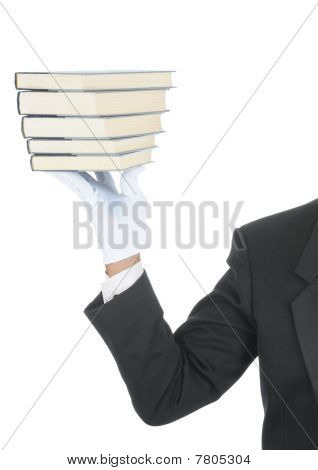 Butler With Books