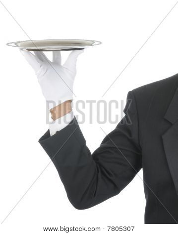 Butler With Tray
