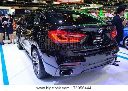 Nonthaburi - December 1: Bmw X6 Xdrive 30D Suv Car Display At Thailand International Motor Expo On D