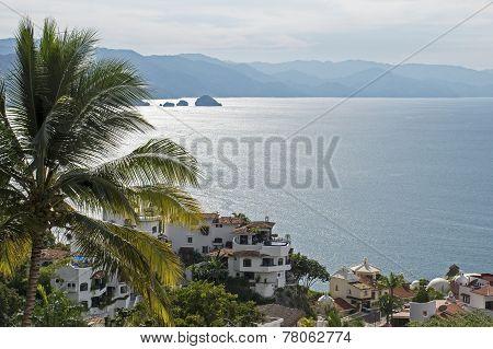 Bay Of Banderas In Mexico