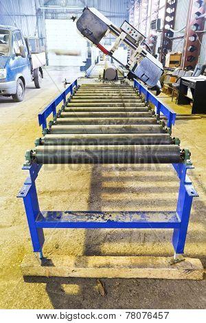 Roller Feeder Of Cutting Saw Machine