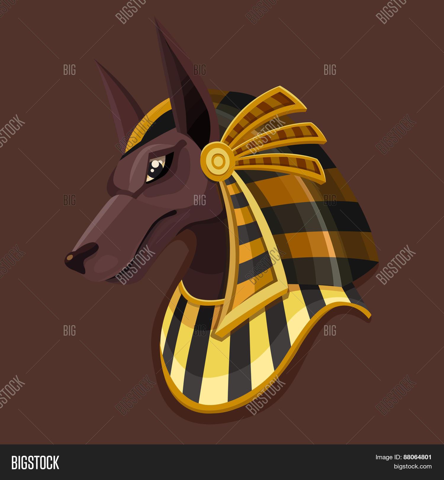 Symbol Head Anubis  Vector & Photo (Free Trial)   Bigstock