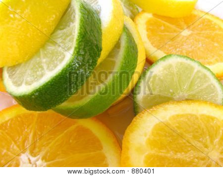 Limon, Lime, And An Orange