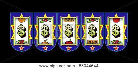 dollar symbol slots