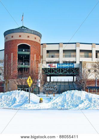 Stadium In Winter